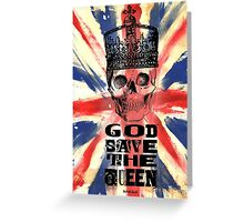 GOD SAVE THE QUEEN JACK Greeting Card