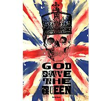 GOD SAVE THE QUEEN JACK Photographic Print
