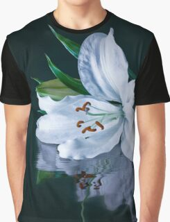 Flower in Water Graphic T-Shirt