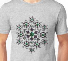 Dice Snowflake Unisex T-Shirt