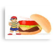 Burger Boys (Ness only) Canvas Print
