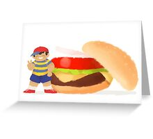 Burger Boys (Ness only) Greeting Card