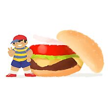 Burger Boys (Ness only) Photographic Print