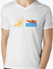 Banana Boat Mens V-Neck T-Shirt