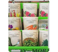 For Spring Planting iPad Case/Skin