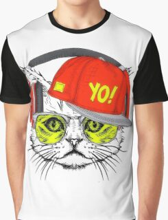 The Cat Graphic T-Shirt