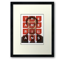 The Americans - Philip Framed Print
