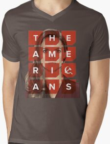 The Americans - Elizabeth Mens V-Neck T-Shirt
