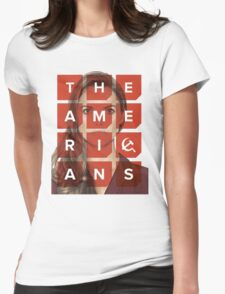 The Americans - Elizabeth Womens Fitted T-Shirt
