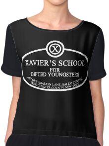 X Men - Xavier's School Chiffon Top