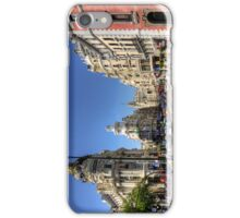 The end of the Calle de Alcalá iPhone Case/Skin