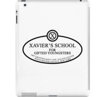 X Men - Xavier's School - Black iPad Case/Skin
