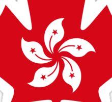 Hong Kong Canadian Multinational Patriot Flag Series Sticker