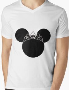 Princess Minnie in Disguise Mens V-Neck T-Shirt