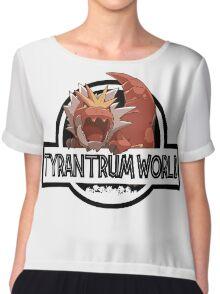 Tyrantrum World Chiffon Top