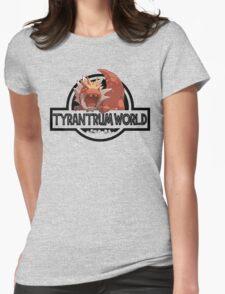 Tyrantrum World Womens Fitted T-Shirt