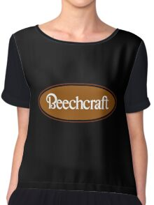 Beechcraft Aircraft Chiffon Top