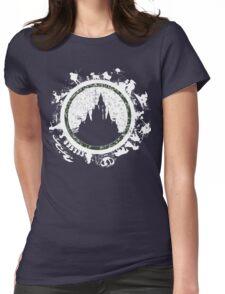 Magic kingdom v2 Womens Fitted T-Shirt