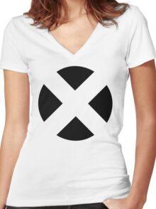 X Men Women's Fitted V-Neck T-Shirt