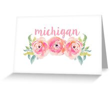 University of Michigan Greeting Card