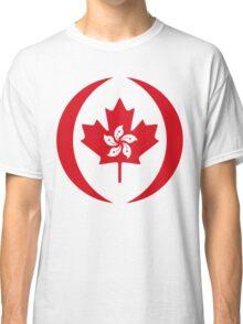Hong Kong Canadian Multinational Patriot Flag Series Classic T-Shirt