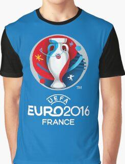 UEFA Euro 2016 France Graphic T-Shirt