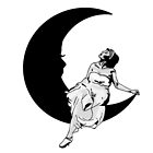 Lady in the Moon by RocketPluto