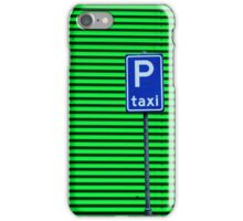 Taxi Please iPhone Case/Skin