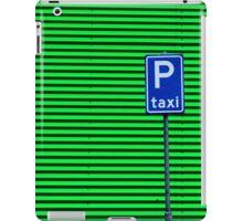 Taxi Please iPad Case/Skin