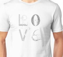 Love animals Unisex T-Shirt