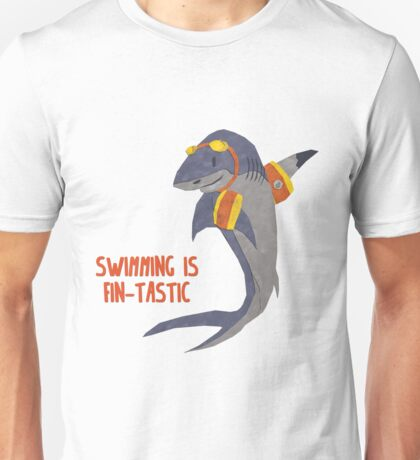 Swimming is Fin-tastic! Unisex T-Shirt