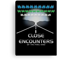Close Encounters of the Pixel Kind Canvas Print