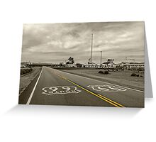 Get Your Kicks on Route 66 Greeting Card