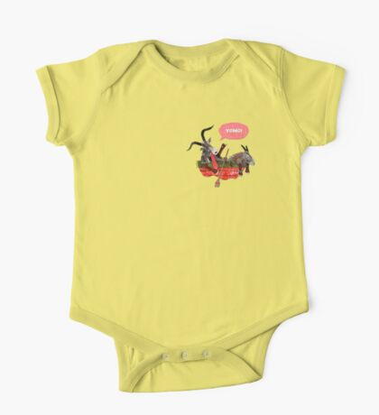 Goats in a Boat One Piece - Short Sleeve