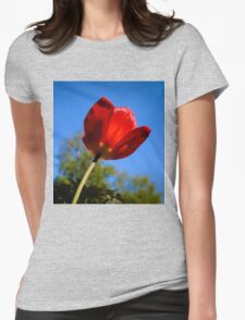 Red Tulip Womens Fitted T-Shirt