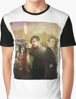 Hood Vs Who  Graphic T-Shirt