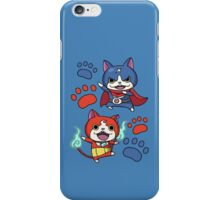 Jibanyan and Fuyunyan iPhone Case/Skin