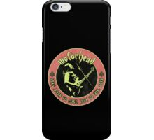 Motorhead (Born to lose) Vintage iPhone Case/Skin