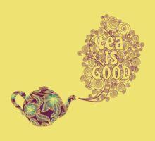 Tea is Good One Piece - Short Sleeve