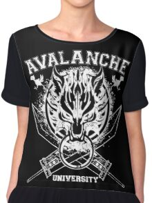 Avalanche University FVII Chiffon Top
