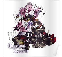 Cheshire with Pandora Hearts logo Poster
