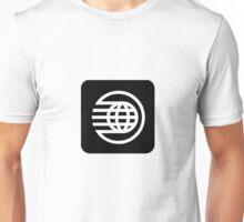 AppLogoOnlySpaceshipEarth Unisex T-Shirt