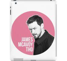 James Mcavoy Sticker iPad Case/Skin