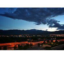 Pikes Peak Sunset #6 Photographic Print