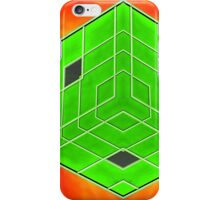 The Green Cubic iPhone Case/Skin
