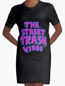 Pink logo Graphic T-Shirt Dress