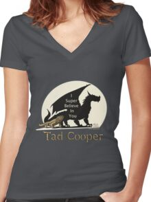 Galavant: I Super Believe In You Tad Cooper V2 Women's Fitted V-Neck T-Shirt