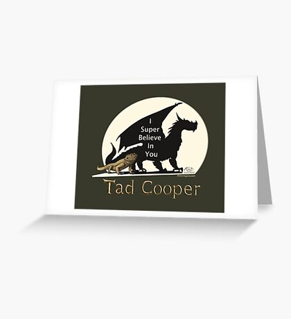 Galavant: I Super Believe In You Tad Cooper V2 Greeting Card