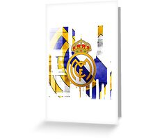 Real Madrid the Winner Greeting Card