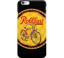 Rollfast bicycles iPhone Case/Skin